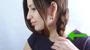 long hair style showing ears 4 ways to side braid hair wikihow