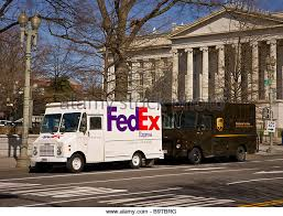 fedex truck usa stock photos fedex truck usa stock images alamy