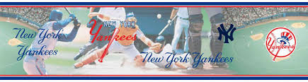New York Yankees Home Decor by Mlb New York Yankees Wall Border Sale 14 95 W Free Shipping 5815403