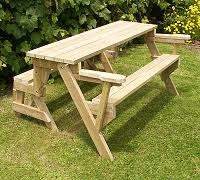 folding bench to picnic table instructions page 1