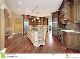 kitchen with l shaped island kitchen with l shaped island royalty free stock image image