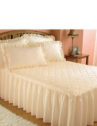 Cotton Quilted Bedspread Luxury Plain Quilted Bedspread Home Bedroom