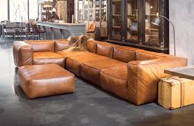 trend sofa cognac leather sofas are now on trend for 2017 homes leather sofas