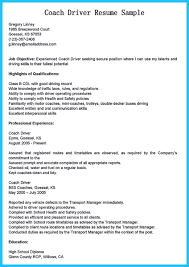 Delivery Driver Resume Example by Stunning Bus Driver Resume To Gain The Serious Bus Driver Job