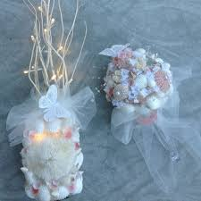 Seashell Bouquet Shop Beach Wedding Bouquets On Wanelo