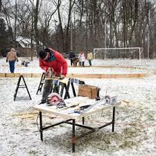 Making Ice Rink In Backyard Make Your Own Backyard Ice Rink Diy Pinterest Backyard Ice