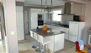ilot cuisine blanc ilot cuisine blanc cuisine blanche orange ilot central
