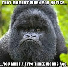 Gorilla Memes - typo mad gorilla meme on imgur