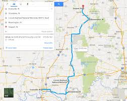 Southern Illinois Wine Trail Map by Take A Literary Tour Of Indiana Day 1