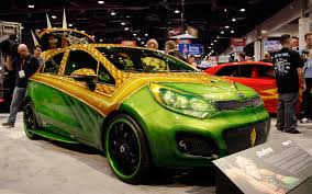 halloween city geneva ny kia justice league concepts celebrate halloween at 2012 sema show