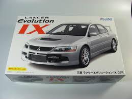 mitsubishi evo drawing mitsubishi lancer evo ix fujimi car model kit com