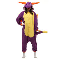 Birthday Suit Halloween Costume by Compare Prices On Purple Dragon Onesie Online Shopping Buy Low