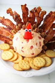 bacon turkey thanksgiving turkey pimento cheeseball mom loves baking