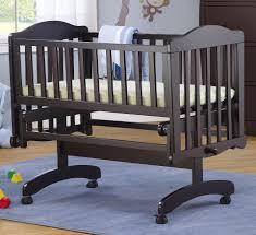 Davinci Alpha Mini Rocking Crib by Sorelle Berkley Cradle Espresso Toys