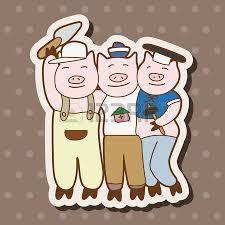 pigs 4 big bad wolf blowing straw