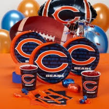 chicago bears themeaparty