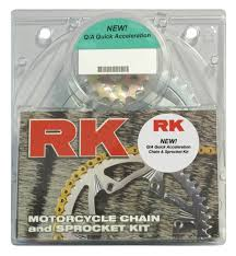 rk quick acceleration chain u0026 sprocket kit yamaha r6 2006 2015