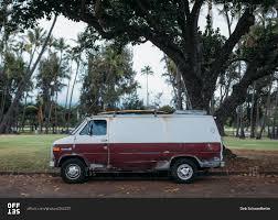 car junkyard honolulu honolulu hawaii march 24 2015 a beat up van parked on the