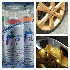 qoo10 color dip rubber spray paint plastic dip rim repair home