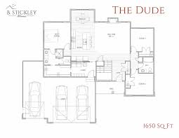 technical floor plan floor plans b stickley homes