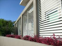 Awnings Townsville Aluminium Privacy Slatscreens And Lattice Outside Blind Blinds