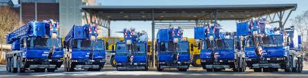 seven new grove cranes for msg krandienst lectura press