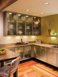 Glass Door Kitchen Wall Cabinets Extraordinary Floating Glass Cabinet Contemporary Best Ideas