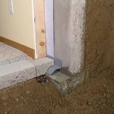 interior basement waterproofing footer system drain main