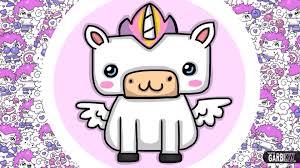 how to draw kawaii unicorn easy drawings hello kawaii machine