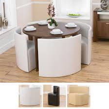 Dining Table And 4 Chairs Stompa Uno S Plus Single Chair Bed Small Spaces High Gloss And