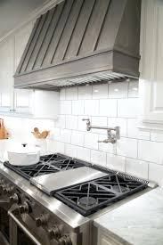 large subway tile backsplash best oven range ideas on kitchen