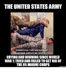Us Marine Meme - the united states army united states army carrying the weight of the