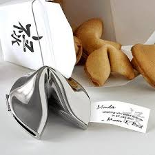 silver fortune cookie gift buy personalized silver fortune cookie gift fortunes of