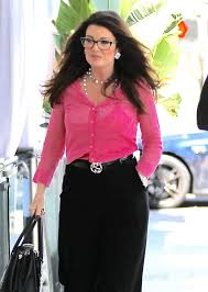 linda vanserpump hair vanderpump out for lunch in beverly hills