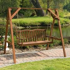 Patio Swing Chair by Best 25 Porch Swing Frame Ideas On Pinterest Swinging Wife A