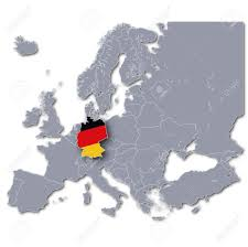 Germany On Map by Europe Map Germany Stock Photo Picture And Royalty Free Image