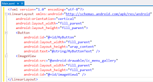 xamarin layout file xamarin display single image in imageview from sd card in android