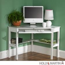 Buy Modern Desk by Buy Holly U0026 Martin Alexander Corner Computer Desk White At Harvey