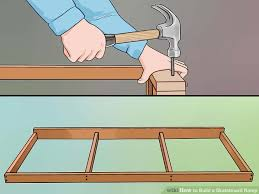How To Build A Storage Shed Ramp by How To Build A Skateboard Ramp With Pictures Wikihow