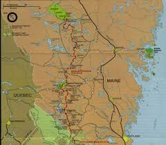 Maine State Map by Maine At Map
