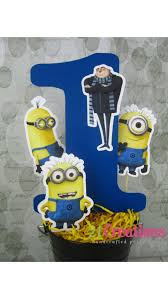 minion centerpieces the 73 best images about despicable me party on minion