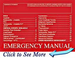 emergency manual stanford university of medicine