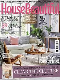 beautiful homes magazine hearst magazines house beautiful february 2018
