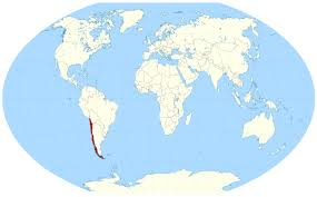 Large World Map Large Location Map Of Chile In The World Vidiani Com Maps Of