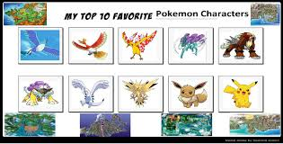 Favorite Pokemon Meme - my favorites pokemon favourites