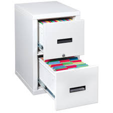 furniture fireproof filing cabinets with 2 drawers and white