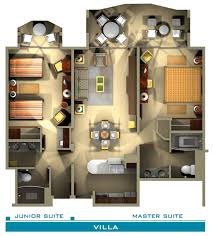 house plans in suite floor plan the villas at bay resort in st maarten
