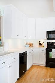 kitchen floor to ceiling cabinets kitchen cabinet makeover reveal