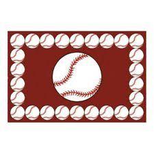 Baseball Area Rug Baseball Rug Ebay