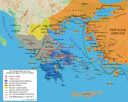 blank map of ancient greece of greece